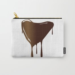 Melting Chocolate Heart Carry-All Pouch