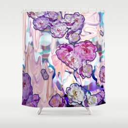 Cathartic Pop Shower Curtain