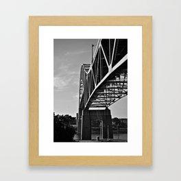 Sagamore Bridge Framed Art Print