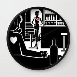 A heartless bastard Wall Clock