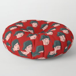 When We Leave Here Next Month Floor Pillow