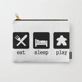 Eat, sleep, play Carry-All Pouch