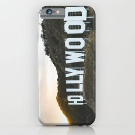 Hollywood Sign (Los Angeles, CA) iPhone Case