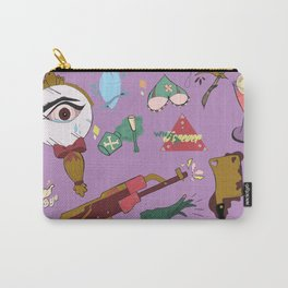 She Lady Man Haters Club Carry-All Pouch