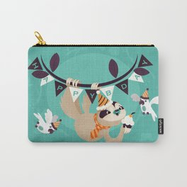 Sloth Birthday Carry-All Pouch
