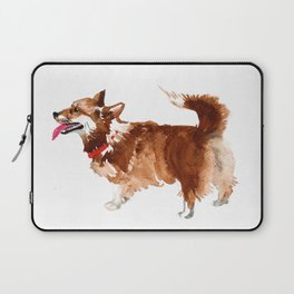 watercolor dog vol 15 corgi Laptop Sleeve