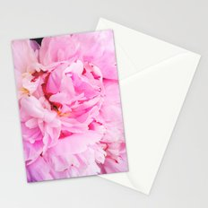 Pretty Pink Peony Stationery Cards