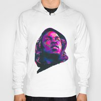 kendrick lamar Hoodies featuring KENDRICK LAMAR : NEXTGEN RAPPERS by mergedvisible
