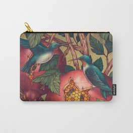 Ragged Wood Carry-All Pouch