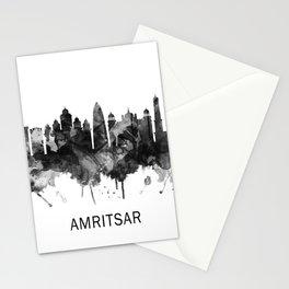 Amritsar Punjab Skyline BW Stationery Cards