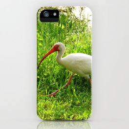 Ibis Walking iPhone Case