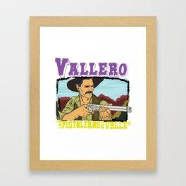 Vallero01 Framed Art Print