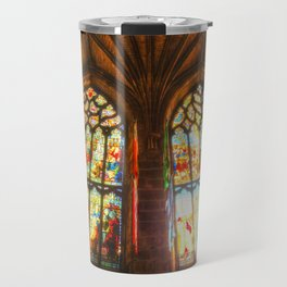 Cathedral Stained Glass Window Travel Mug