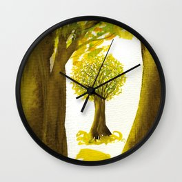 The Fortune Tree #5 Wall Clock