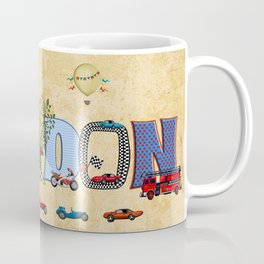 BRAYDON / personalised name illustration Coffee Mug