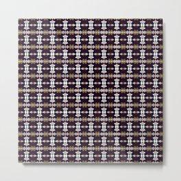 Geometric-A-Maze Metal Print