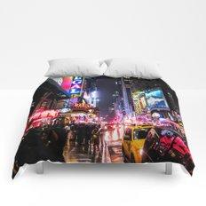 New York City Night Comforters