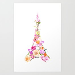 Paris in Bloom Kunstdrucke