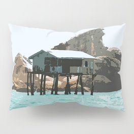 Hut Float Pillow Sham