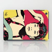 audrey iPad Cases featuring Audrey by Vee Ladwa