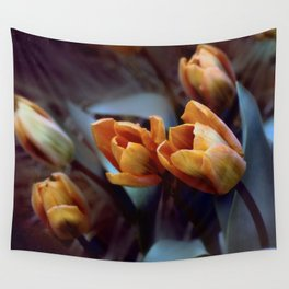 Tulips with Attitude Wall Tapestry