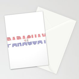 Paraguay Vintage Flag Paraguayan Retro Country Gift Stationery Cards