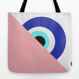 Devil eye pink hide Tote Bag