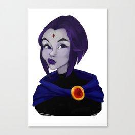 Skeptic Raven Canvas Print