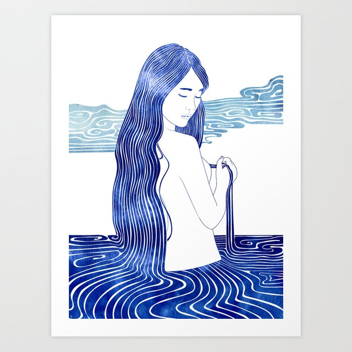 Melite Art Print