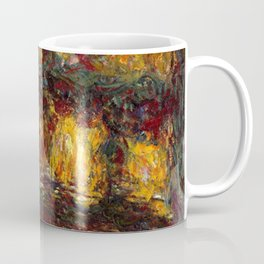 1920-Claude Monet-The Japanese Footbridge, Giverny-89 x 94 Coffee Mug
