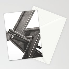 I beam Sculpture 2 Stationery Cards