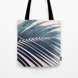 Palm Leaf Blush Vibes #1 #tropical #decor #art #society6 Tote Bag