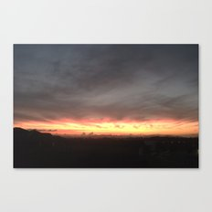 Fired Horizons Canvas Print