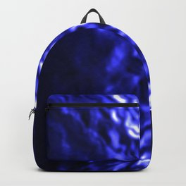 Blue ripple Backpack