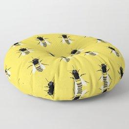Honey Bee Floor Pillow