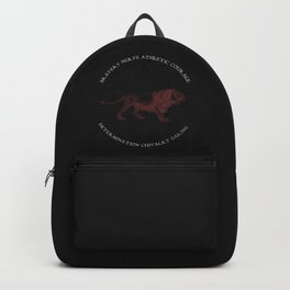 House of the Brave - Black Backpack