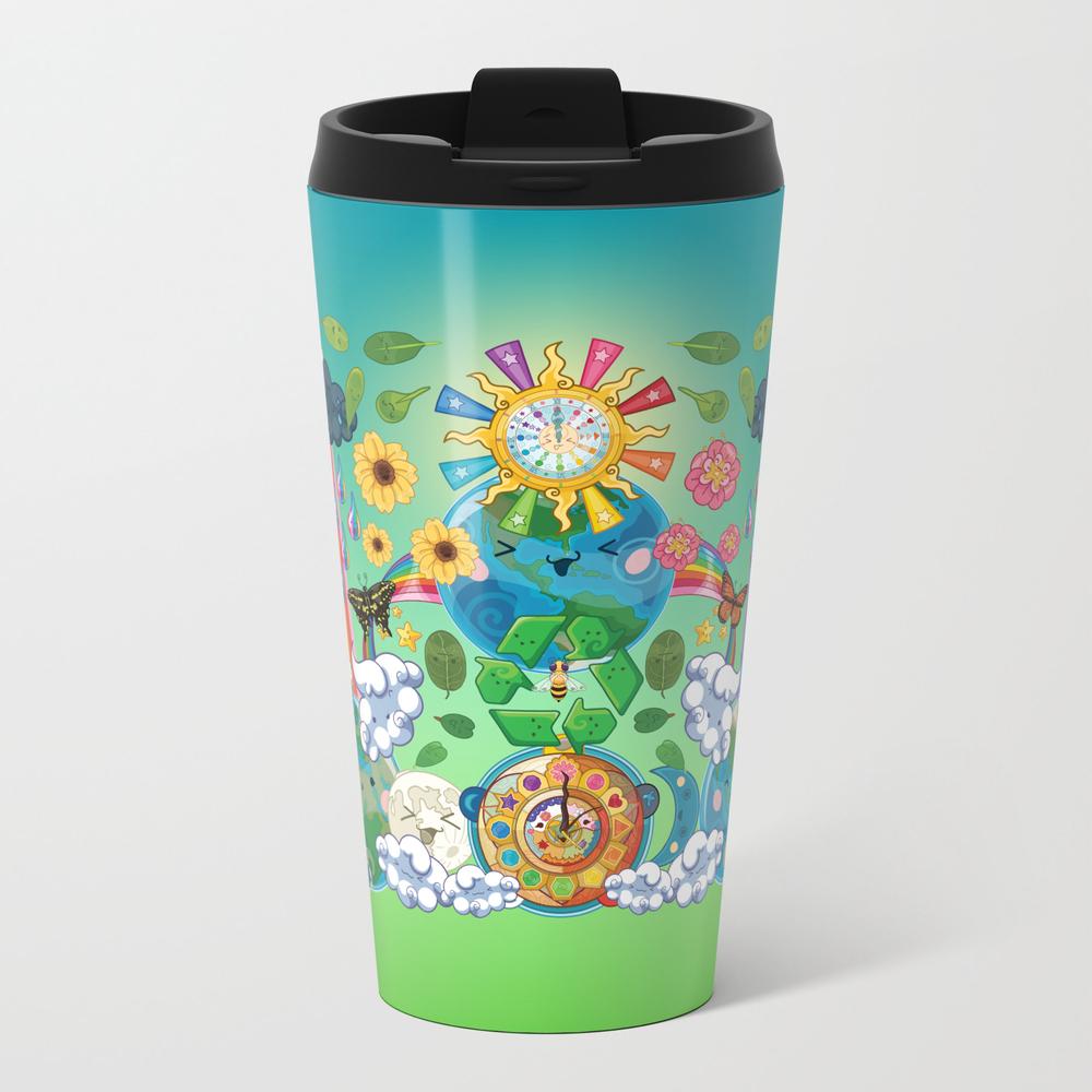 Kawaii Universe - Cute Worlds Peace Earth Love Travel Cup TRM8870903