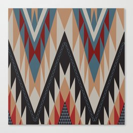 American Native Pattern No. 11 Canvas Print