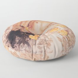 Glowing Peace Floor Pillow