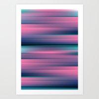 gradient Art Prints featuring Gradient by Elyse Beisser