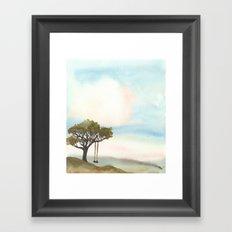 The Swing Tree Framed Art Print