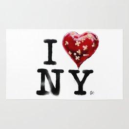 Banksy * I Love New York Rug