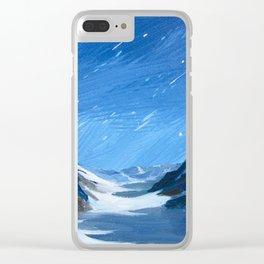 Jung Frau Clear iPhone Case