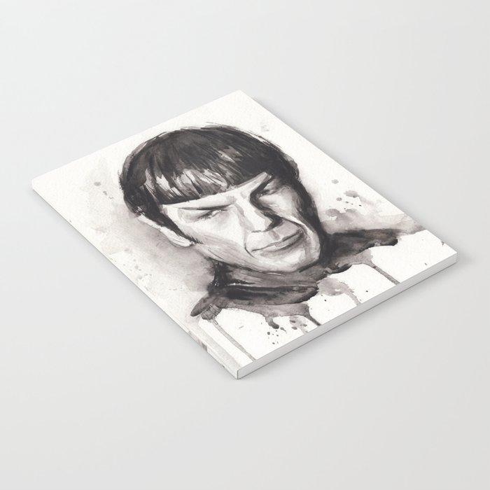 Spock Star Trek Notebook