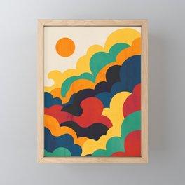 Cloud nine Framed Mini Art Print