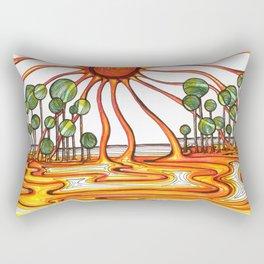 Liquid Star Rectangular Pillow