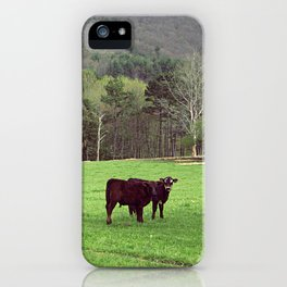 With the Young Calves iPhone Case