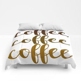 COFFEE COFFEE COFFEE Comforters