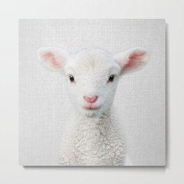 Lamb - Colorful Metal Print