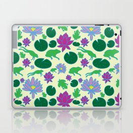 Jumping Frogs of Lily Pad Valley Laptop & iPad Skin